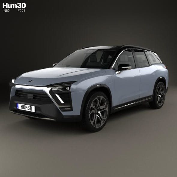 Nio ES8 2018 - 3DOcean Item for Sale