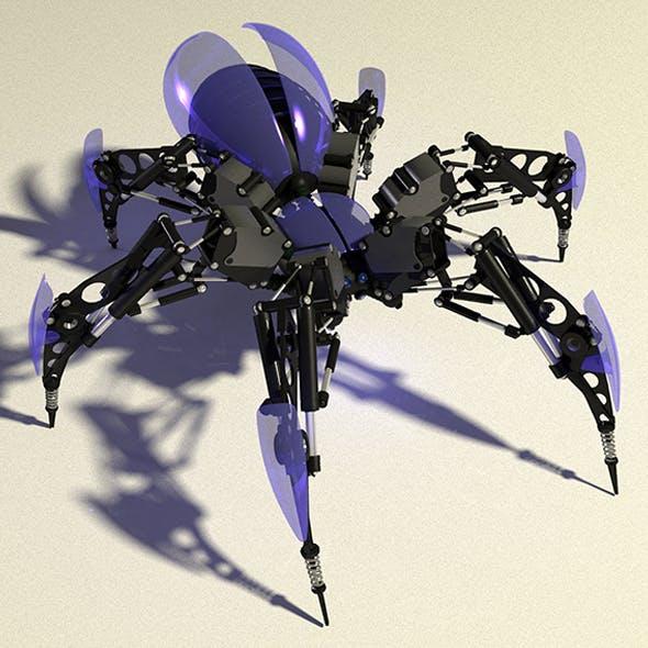 Spider-Animation - 3DOcean Item for Sale