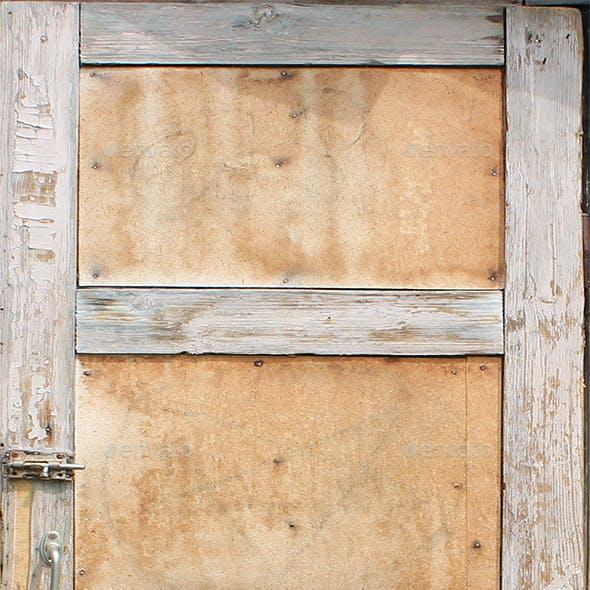 Old Leaking Wooden Door Texture