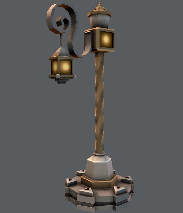 Lamp Post V01 - 3DOcean Item for Sale