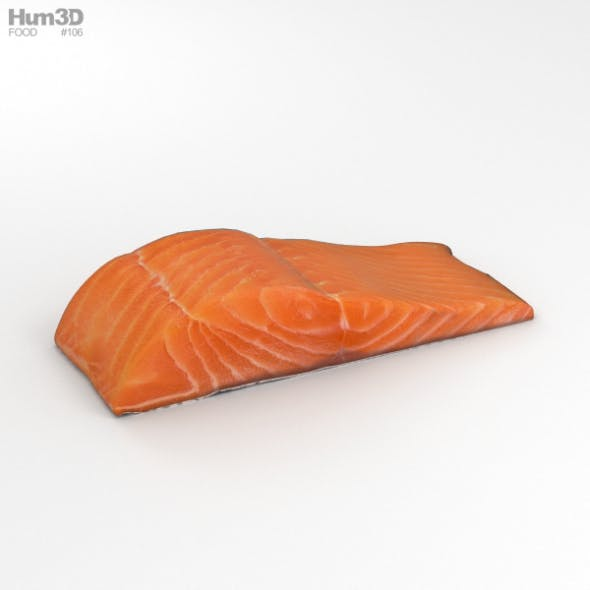Salmon Fillet - 3DOcean Item for Sale