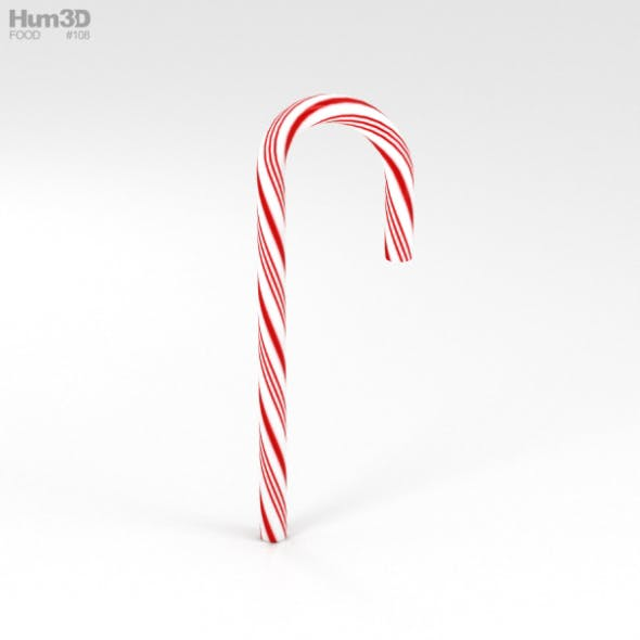 Candy Cane - 3DOcean Item for Sale