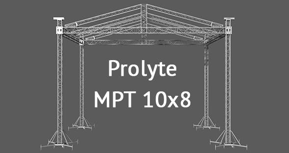 Prolyte MPT 10x8 roof system - 3DOcean Item for Sale