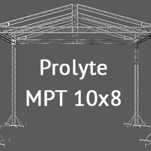 Prolyte MPT 10x8 roof system