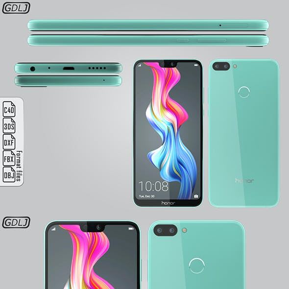 Huawei Honor 9N Robin Egg Blue