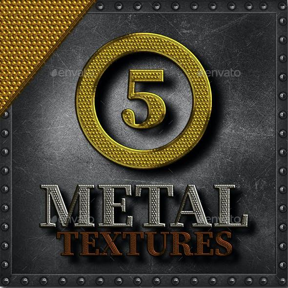 5 Metal Textures