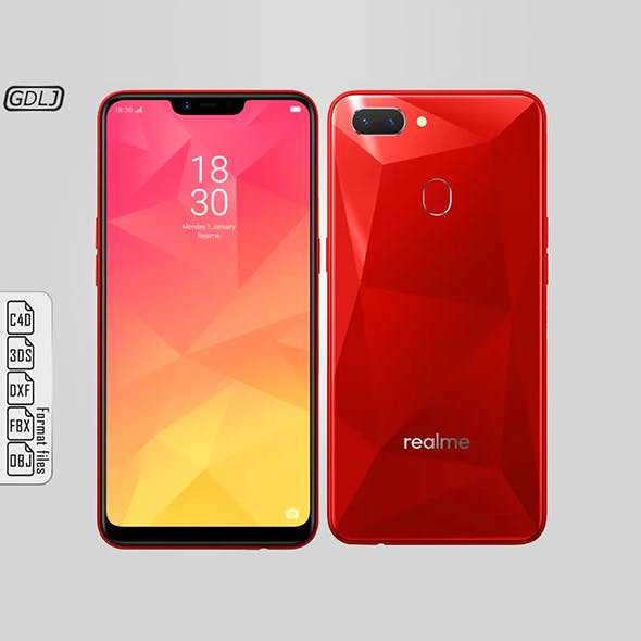 Oppo Realme 2 Red