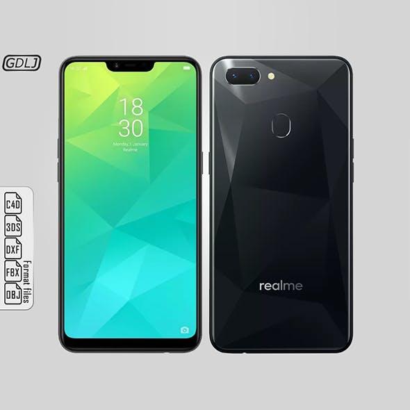 Oppo Realme 2 Black - 3DOcean Item for Sale