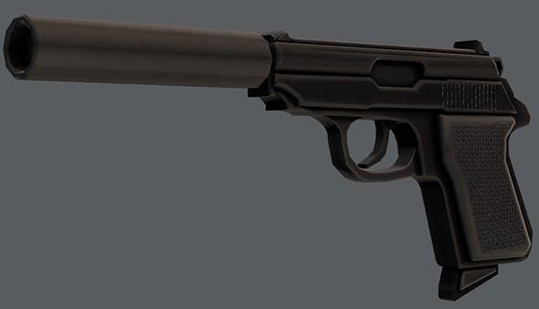 Gun 01 - 3DOcean Item for Sale