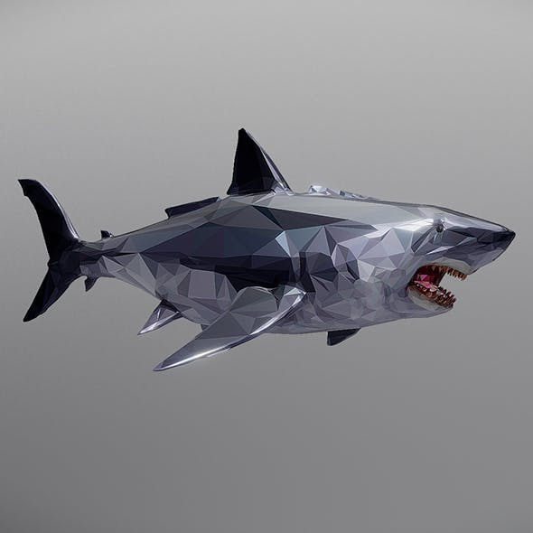 shark - 3DOcean Item for Sale