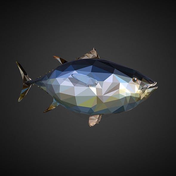 tuna - 3DOcean Item for Sale