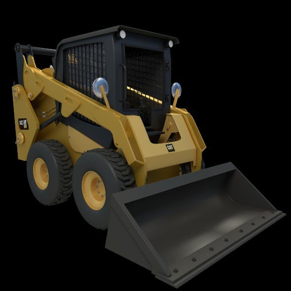 Skid loader - 3DOcean Item for Sale