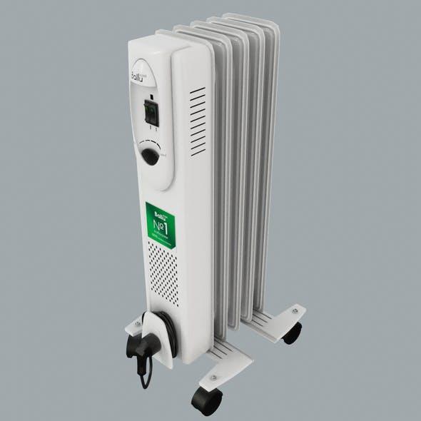 Oil Filled Heater Ballu Comfort - 3DOcean Item for Sale