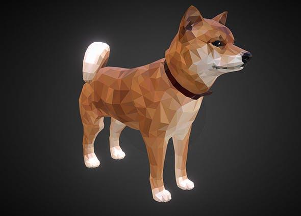 dog_01_ Orange - 3DOcean Item for Sale