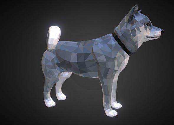 dog_01_grey - 3DOcean Item for Sale