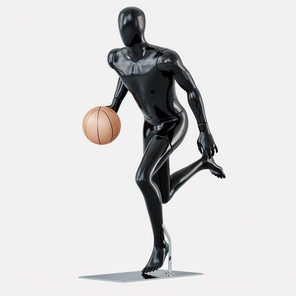 Faceless mannequins basketball 28 - 3DOcean Item for Sale
