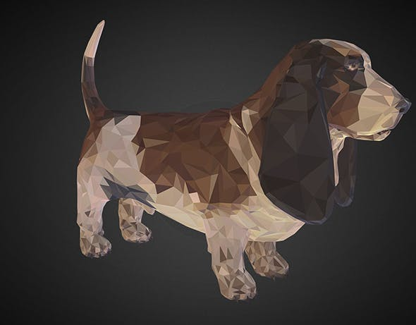 dog 02 brown - 3DOcean Item for Sale