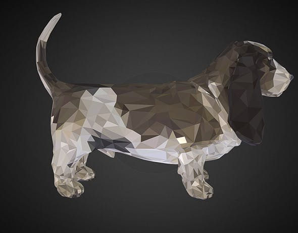 dog 02 black - 3DOcean Item for Sale