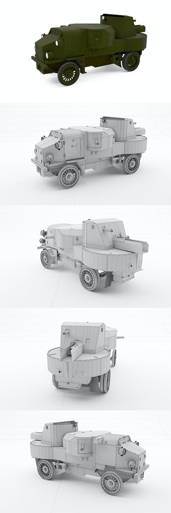 Putilov Garford - 3DOcean Item for Sale