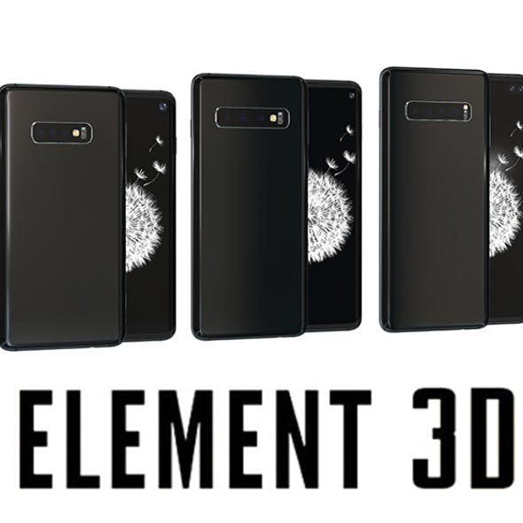Samsung Galaxy S10 for Element 3D