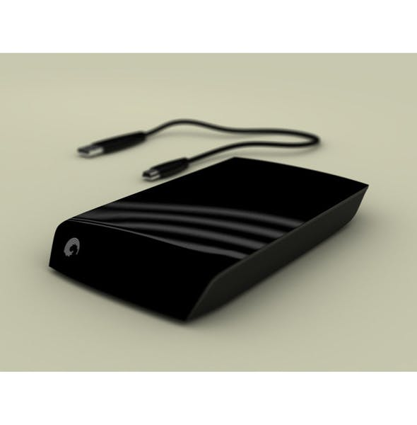 Seagate External Hdd - 3DOcean Item for Sale