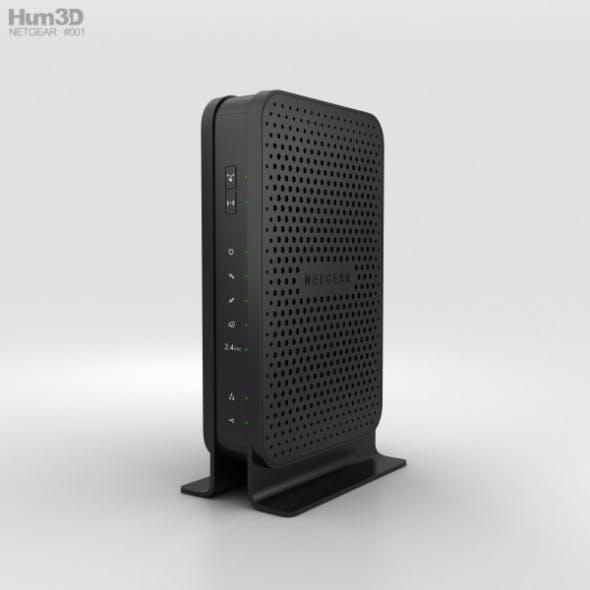 NetGear C3000 Wi-Fi Cable Modem Router - 3DOcean Item for Sale