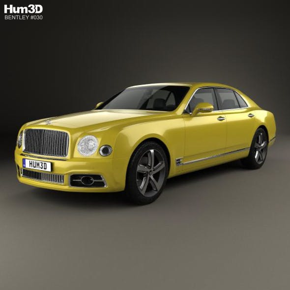 Bentley Mulsanne Speed 2017 - 3DOcean Item for Sale