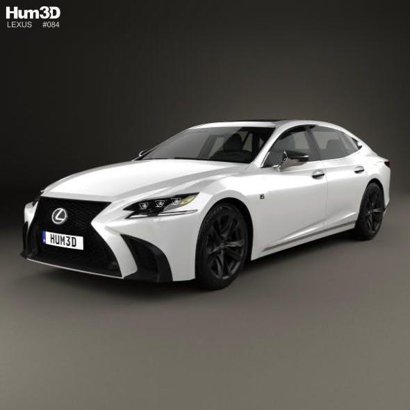 Lexus LS (XF50) F Sport 2018