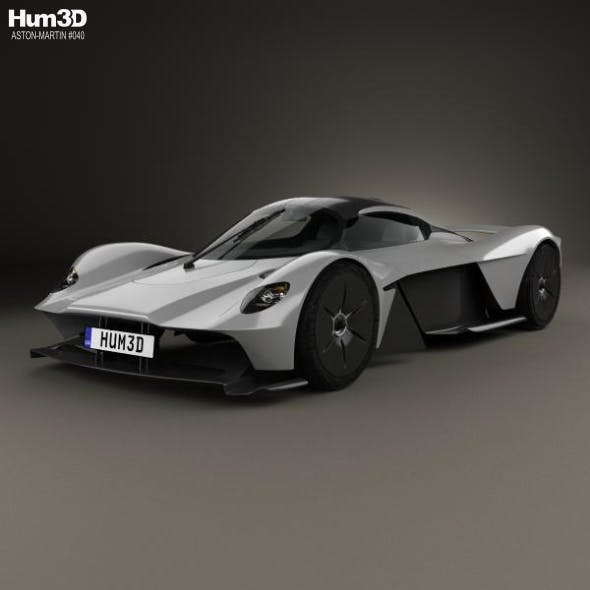 Aston Martin Valkyrie 2018 - 3DOcean Item for Sale