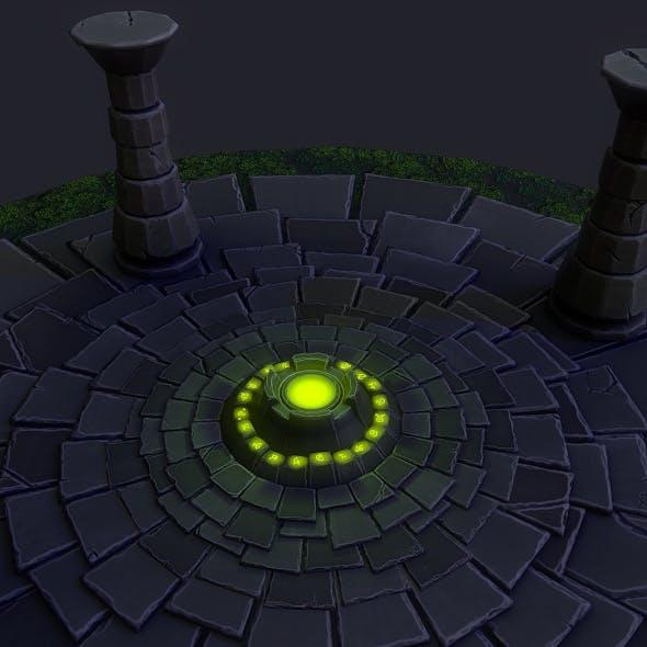 Fantasy Altar - 3DOcean Item for Sale