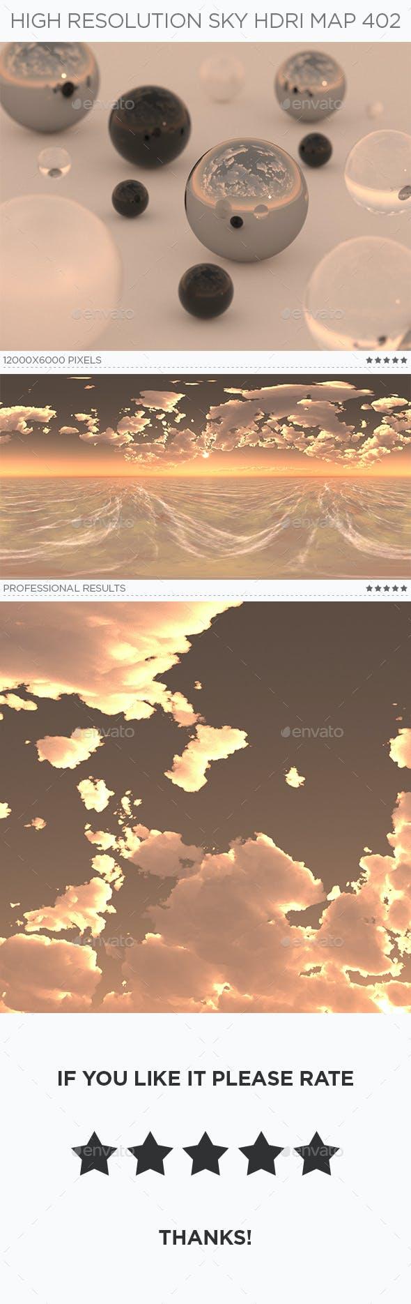 High Resolution Sky HDRi Map 402 - 3DOcean Item for Sale