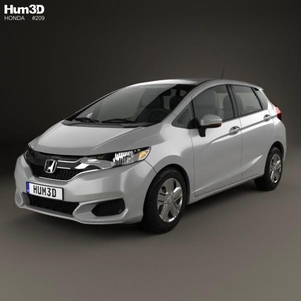 Honda Fit LX 2017 - 3DOcean Item for Sale