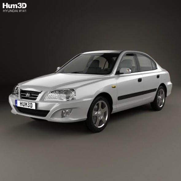 Hyundai Elantra (XD) CN-spec 2010