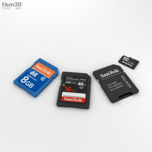 SD Cards Set