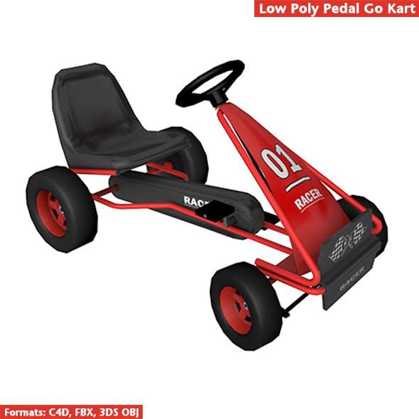 Pedal Go Kart - 3DOcean Item for Sale