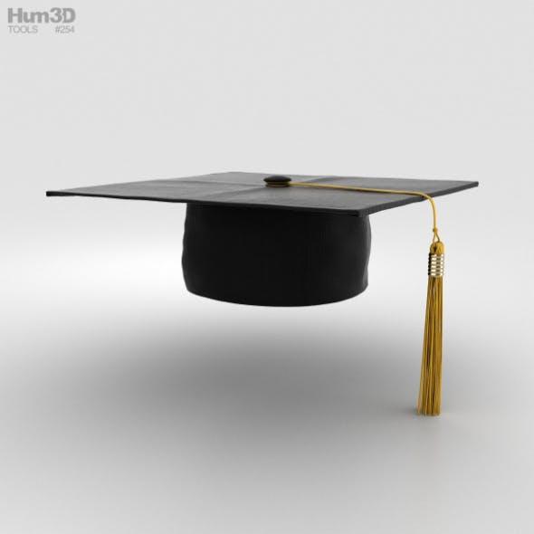 Graduation Cap - 3DOcean Item for Sale