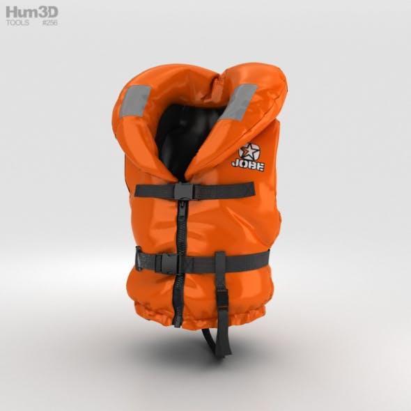 Life Jacket - 3DOcean Item for Sale
