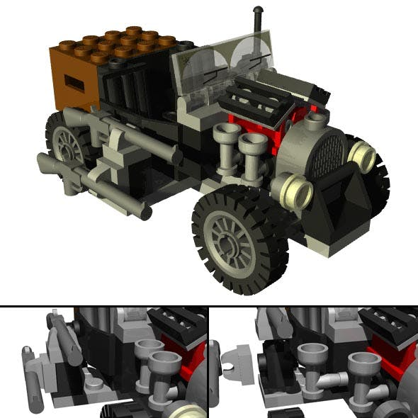 LEGO Adventure Car