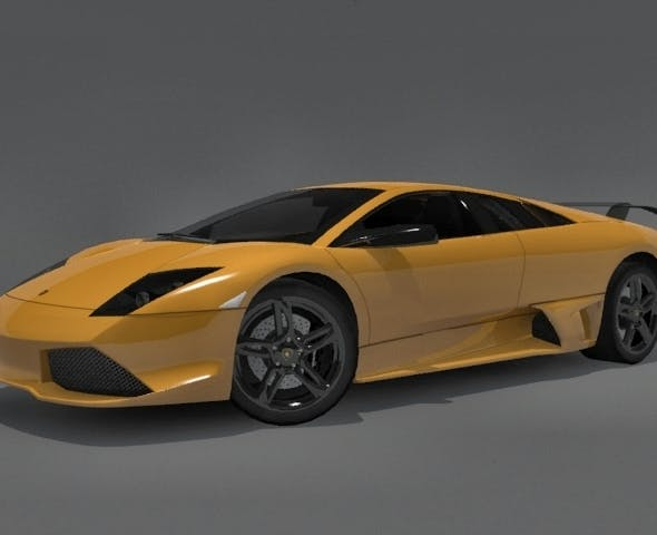 Lamborghini Murcielago LP-640 - 3DOcean Item for Sale