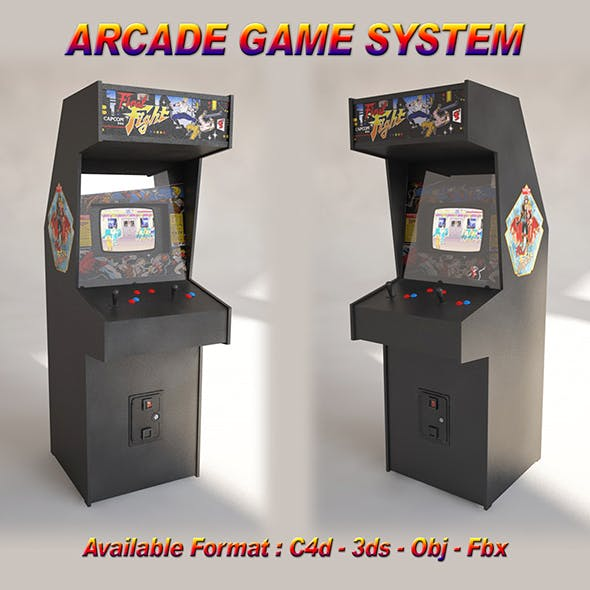 Arcade Game System - 3DOcean Item for Sale