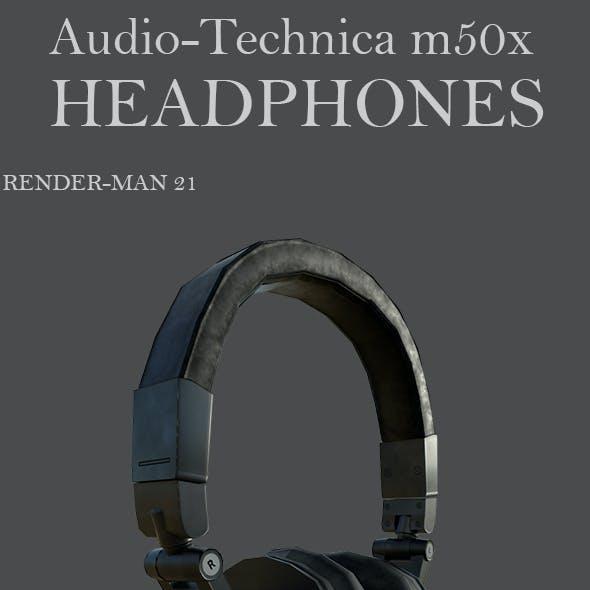 Headphone Audio Tecnica M50x