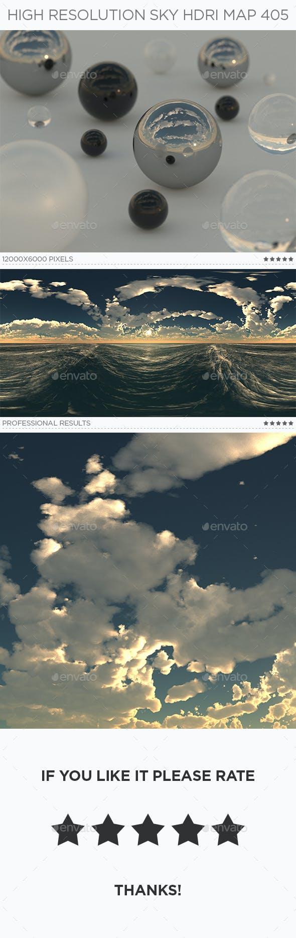 High Resolution Sky HDRi Map 405 - 3DOcean Item for Sale