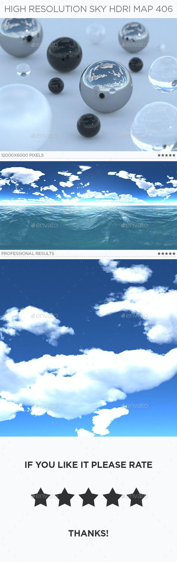 High Resolution Sky HDRi Map 406 - 3DOcean Item for Sale