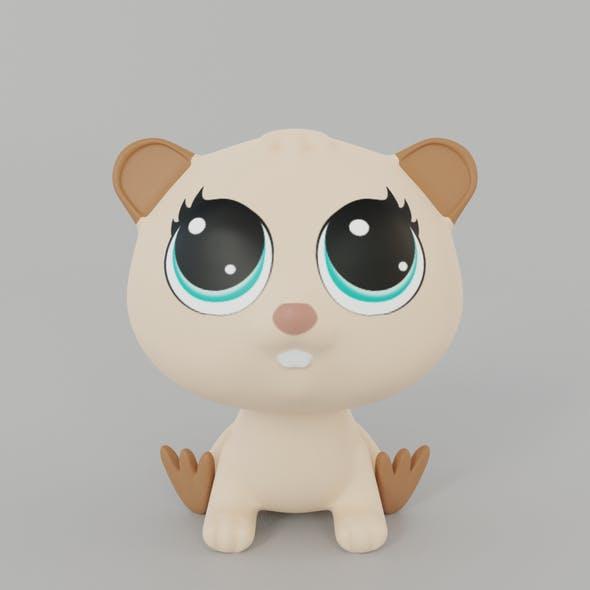 Beaver Toy
