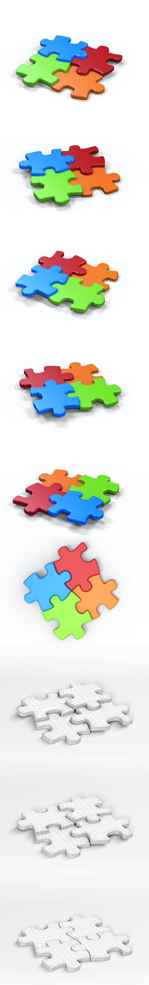 3D Puzzle - 3DOcean Item for Sale