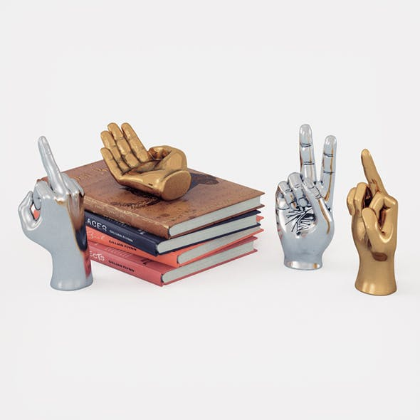 Figurine hand set for Table Top