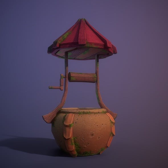 Fantasy Wishing Well - 3DOcean Item for Sale