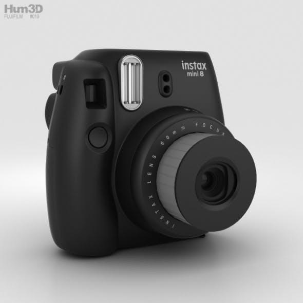 Fujifilm Instax Mini 8 Black - 3DOcean Item for Sale