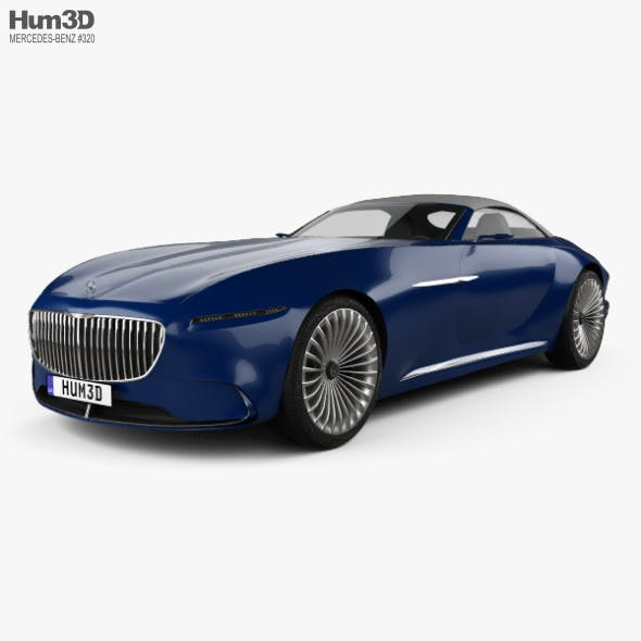 Mercedes-Benz Vision Maybach 6 cabriolet 2017 - 3DOcean Item for Sale