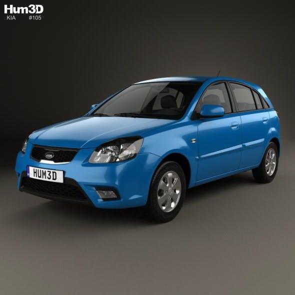 Kia Rio JB hatchback 2009 - 3DOcean Item for Sale